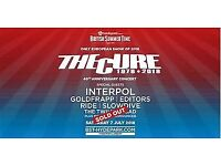 x2 Tickets - The Cure & Interpol - Hyde Park British Summer Time 2018