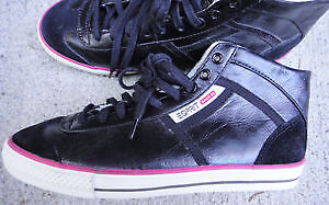 NEW Esprit Casual Shoes Sneakers Black Size 40 / 9 - 9.5