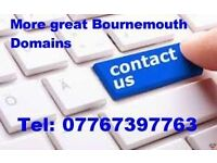 Domain names for Bournemouth websites & developers choose from a selection of premium domain names