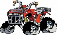 LOOKING FOR ALL MAKES AND MODELS PARTS ATV'S non-working/working