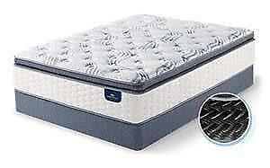 Serta Carrolwood - King Mattress - $450