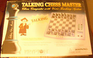 krypton electronic chess master set for sale