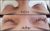 Eyelash Extensions for the Wedding! Only $55.00