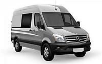 Driver with Sprinter Van looking for contract MONTREAL-CORNWALL