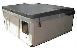 Dynasty spas hot tub cover with stereo cut out