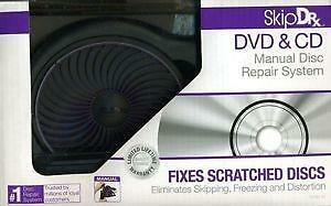 Skip Rx DVD & CD Manual disc Repair System