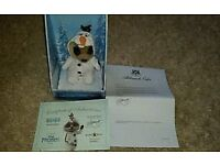 Meerkat Toy Frozen limited edition Oleg as Olaf