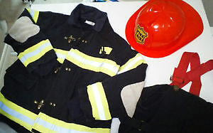 Firefighter's Costume - Child size 4/5