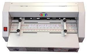 New Electric Creaser and Perforator Machine 2-in-1 Combo, scorer