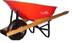 (NEW) ERIE 1035 WHEEL BARROWS  ON SALE $169.99 ea.+tax