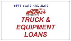 FINANCING-LOANS-LEASE-REFINANCING TRUCK/EQUIPMENT