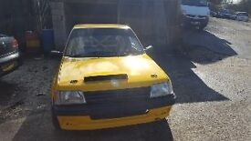Peugeot 205 rally car MI16 with loads of spares ready to rally incl Msa log book open to offers