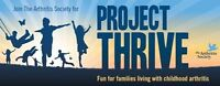 Project THRIVE-Fun for families living with childhood arthritis