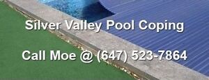 Silver Valley Pool Coping Silver Valley Bull Nose Coping Capping