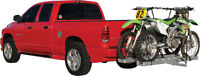 ALUMINUM/STEEL DUAL MOTORCYCLE CARRIER TRAILER HITCH