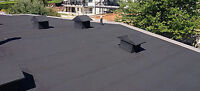 Commercial Flat Roof Laborer