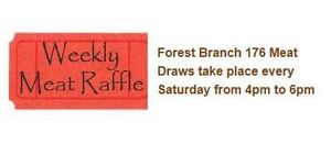 The Forest Legion Weekly Meat Raffle June 3/17