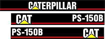 Caterpillar Ps-150b Pneumatic Compactor - Decal Set