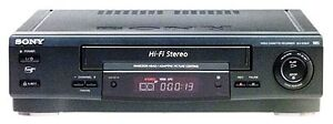 FOR SALE NEW & USED SONY & JVC VCR's