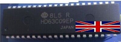 1pcs HD63C09EP 63C09 HITACHI DIP4O 8-Bit Microprocessor NEW GOOD QUALITY