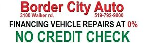 WE NOW FINANCE YOUR VEHICLE REPAIRS @ 0%