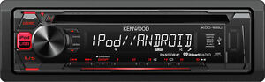 Kenwood KDC-165U  Single DIN CD receiver with USB and AUX