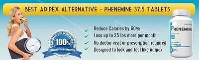 2 CT Phenemine Adipex 37.5 Slimming Pharmaceutical Grade Burner Best Diet Pills  7