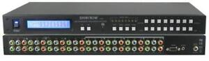 SB-8802LCM: 8x8 Component HDTV Video (w/o audio) Video Matrix Routing Switcher [SB-8802LCM]