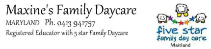 Maxine's Family Daycare Maryland 2287 Newcastle Area Preview