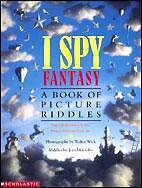 BRAND NEW - I SPY FANTASY - A BOOK OF PICTURE RIDDLES
