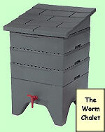 Worm Chalet Composter $100