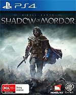 Shadow of Mordor - Mint condition PS4