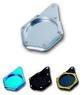 support porte vignette assurance aluminium pour quad scooter moto couleur alu ebay. Black Bedroom Furniture Sets. Home Design Ideas