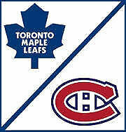 LEAFS VS CANADIENS IN MONTREAL - BELL CENTER - OCT 24