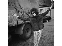 Bob Dylan covers band, but one you can dance to!