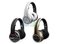 wireless bluetooth headphone wireless headset with LED Flash light