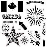 Close To My Heart (CTMH) Canadian Celebration Stamp Set - New