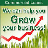 Commercial Loan Available