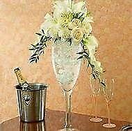 Vintage Giant Champagne Glasses