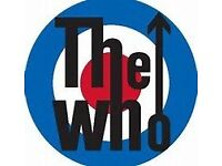 2 x Tickets For The WHO live at the Hydro