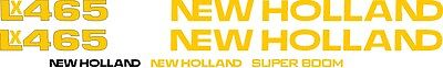 New Holland Lx465 Skid Steer Lx 465 Replacement Decal Sticker Kit Made In Usa
