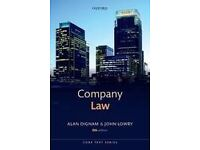 Company Law 8th Edition by Alan Dingham and John Lowry 2014 HALF PRICE
