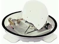 Camos Self Seeking Satellite Dish For Leisure Vehicles