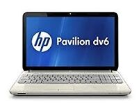 PROFESSIONALLY REFURBISHED HP PAVILION DV6 LAPTOP 4GB RAM 320GB HDD INTEL i5 OFFICE 6 MTH WRNTY VGC