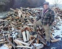Dry Top quality mostly maple hardwood firewood split or logs