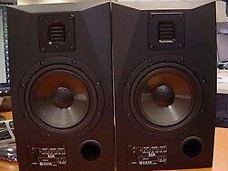 Adam Audio S2A Powered Studio Monitors Pair