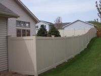 Fence 200-250/feet of new or used fence panels etc, PVC, WOOD