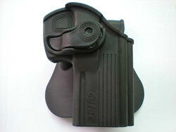 Black Tactical Pistol Holster Belt Holster