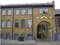 1 bed penthouse flat with balcony Victoria park partly furnished in warehouse conversion