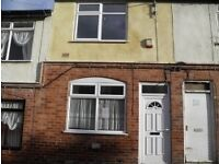 2 BED TERRACE, VICKERS STREET, WARSOP DSS CONSIDERED AND PETS WELCOME!